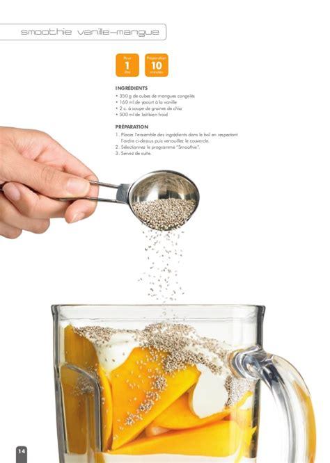 recette de cuisine avec blender livret de recettes avec le blender le riviera et bar