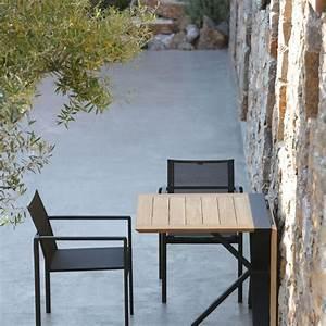 Table Pour Terrasse : meuble petite terrasse balcon fauteuil chaise et table d 39 ext rieur d co c t maison ~ Teatrodelosmanantiales.com Idées de Décoration