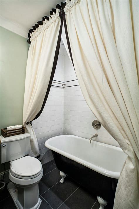 Tub Curtain by 63 Best Images About Bathroom On Clawfoot Tubs