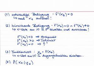 Kurvendiskussion Berechnen : extremalpunkte berechnen lernwerk tv ~ Themetempest.com Abrechnung