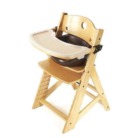 keekaroo height right high chair infant insert tray
