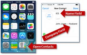 how to set emergency contact on iphone how to set up your id contact on the iphone