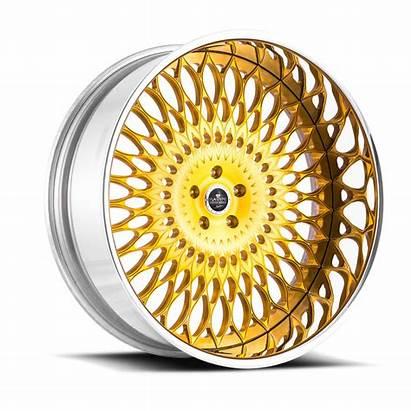 Wheels Savini Veneto Gold Chrome Diamond Hfp