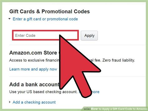 Apply for amazon store card. 3 Ways to Apply a Gift Card Code to Amazon - wikiHow