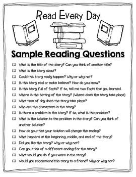 Take Home Reading (EDITABLE) - RED (Read Every Day) Folder