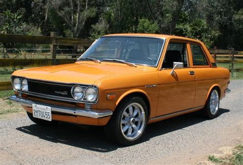 Datsun 510 Motor by Ka24e Powered 1972 Datsun 510 5 Speed For Sale On Bat