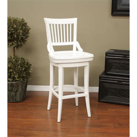 antique white wood bar stools bellacor