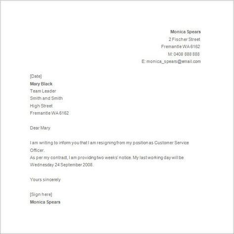 Resignation Letter Template Maternity Leave Letter Australia Certificate