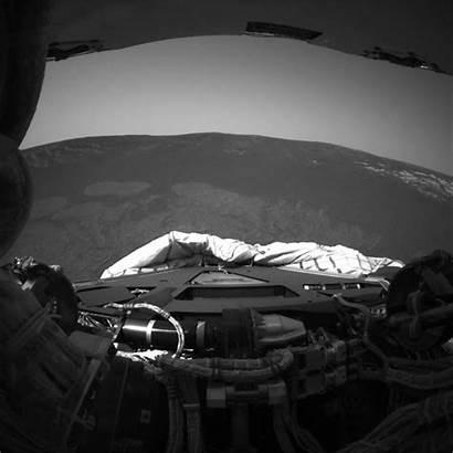 Mars Opportunity Landing Rover Nasa Rear Site