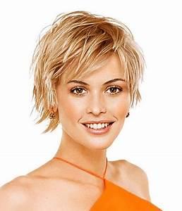 Coupe Carré Visage Rond : coupe courte cheveux fins visage rond ~ Melissatoandfro.com Idées de Décoration