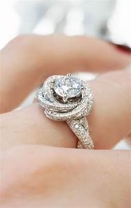 Wedding rings designer modern knot edgeless pave for Wedding rings designers