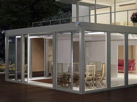 verande su terrazzi verande mobili e chiusure per terrazzi e giardini d