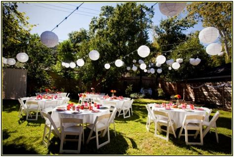 Backyard Wedding Decorating Ideas by Amazing Outdoor Wedding Ideas