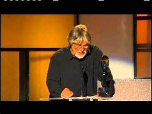 Bob Seger accepts award Rock and Roll Hall of Fame and ...