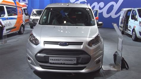 ford transit connect l2 ford transit connect combi trend l2 1 5 tdci 120 hp 2017 exterior and interior in 3d