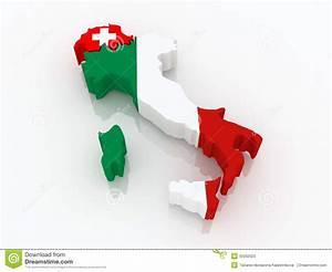 Italienische Schweiz Karte : karte von der schweiz und von italien stock abbildung illustration von regionen europa 35092023 ~ Markanthonyermac.com Haus und Dekorationen