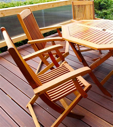 Wood Patio Furniture by Why Choose Wood Patio Furniture