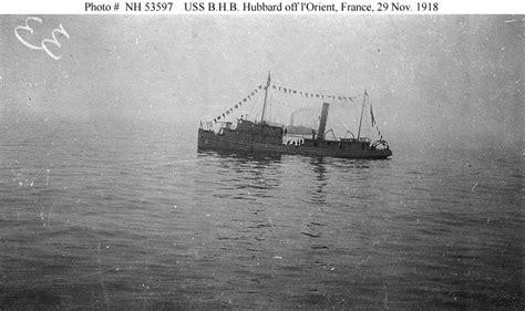 Boat Names Uss by Usn Ships Uss B H B Hubbard Sp 416