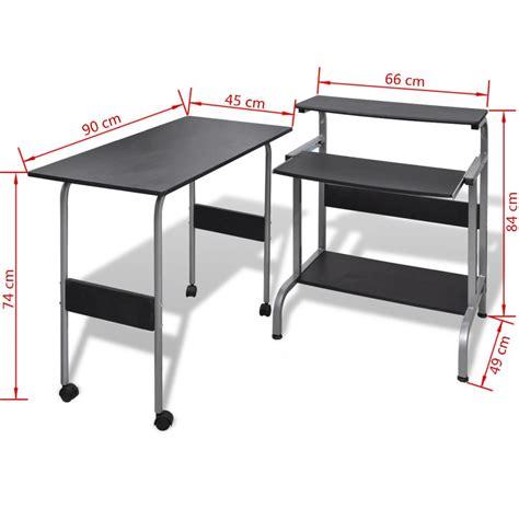 bureau sur roulettes pour ordinateur acheter table de bureau réglable pour ordinateur