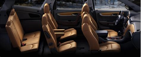 suvs with captain s chairs plus third row seats shopper s