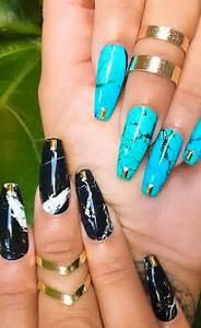 Magnificent stone nail art designs pretty
