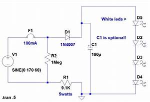 Led 110v Wiring Diagram : 120 volt 4 led light circuit diagram wiring ~ A.2002-acura-tl-radio.info Haus und Dekorationen
