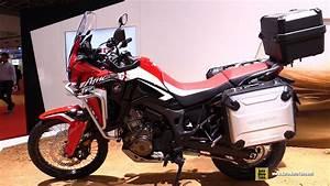 Honda Africa Twin 2016 : 2016 honda crf1000l africa twin walkaround 2015 tokyo motor show youtube ~ Medecine-chirurgie-esthetiques.com Avis de Voitures