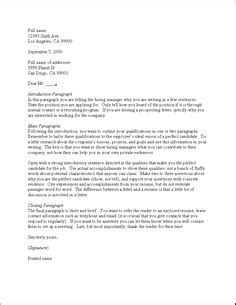 Cover Letter For Resume Exles by A Cover Letter Template For Software Engineers To Use