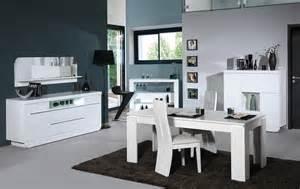 meuble de salle a manger blanc laque