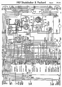 Wiring Diagrams Of 1957 Studebaker And Packard Clipper