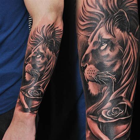 badass tattoos tatouage lion tatouage tatouage bras