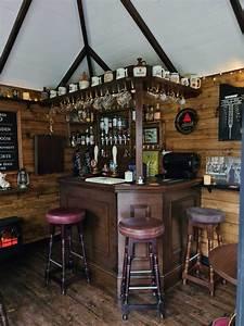 diy mini pub im eigenen garten gebaut