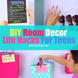 DIY Life Hacks & Crafts : DIY Room Decor Life Hacks For
