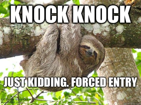 Angry Sloth Meme - the gallery for gt suspiciously evil sloth