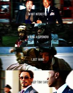 The Avengers - ... Rhodey Quotes
