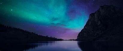 Night Nature Lake Wallpapers Desktop Aurorae Background