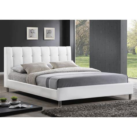 Baxton Studio Vino Modern Upholstered Full Size Bed