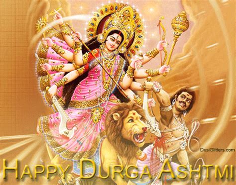 Animated Durga Wallpaper - happy durga ashtami wishes quotes and animated pictures