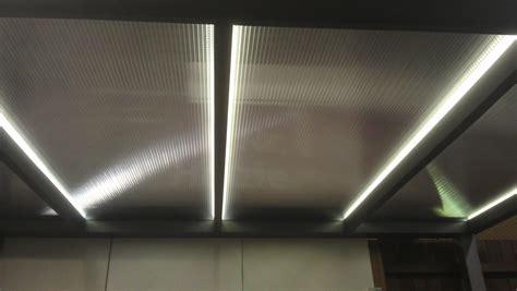 led beleuchtung für carport beleuchtung led in der stegplatte robi bausysteme