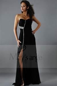 Dressing New York : evening gown dress new york black muslin with strass ~ Dallasstarsshop.com Idées de Décoration