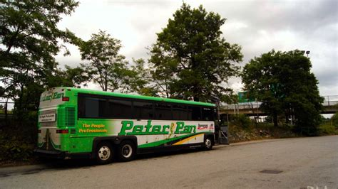 Soundclip: 1999 Peter Pan Bus Lines Motor Coach Industries ...