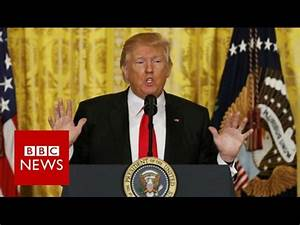 Donald Trump press conference: Highlights - BBC News - YouTube