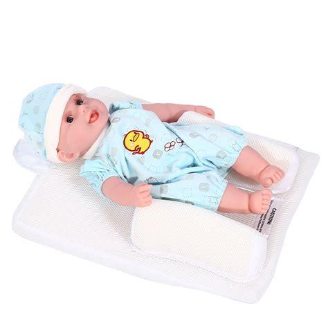 best flat pillow baby infant sleep positioner anti roll pillow prevent flat