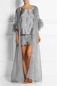fashion and fantasy meet with rosamosario39s gray silk With robe organza