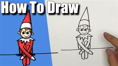 How To Draw On The Shelf Easy Step By Step