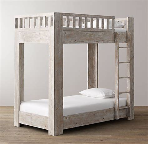restoration hardware bunk bed pin by se on woodworking projects