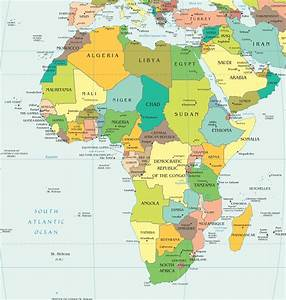 African Country Capitals Map Quiz