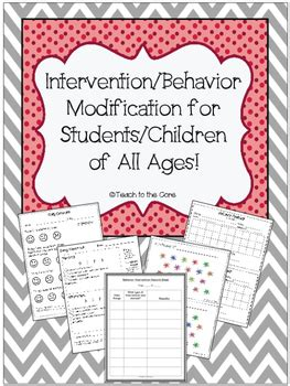Behaviour Modification Rewards by Behavior Modification Contracts Rewards By Teach To The