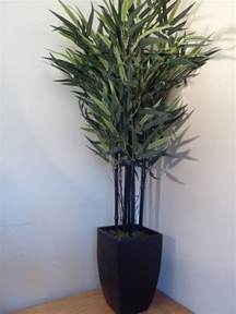 artificial plant 4ft bamboo artificial tree in a stylish pot indoor house office decoration