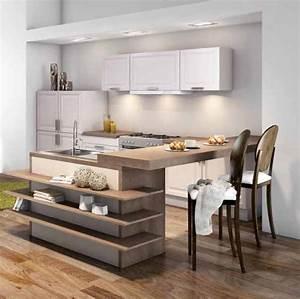 Petite cuisine elle a tout d39une grande travauxcom for Petite cuisine équipée avec meuble de salle a manger design